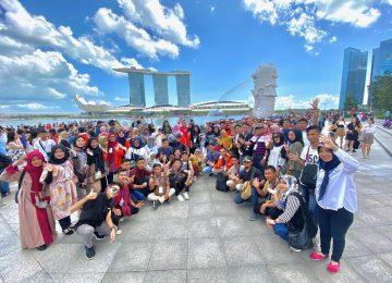 Kunjungan Industri Mahasiswa ke Batam-Singapura-Malaysia 2020