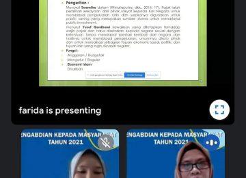 Kegiatan Pengabdian Kepada Masyarakat Politeknik Negeri Sriwijaya bekerja sama dengan Fakultas Ekonomi Universitas Sjakhyakirti