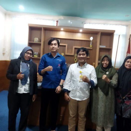 Kunjungan perwakilan PT. Phintraco Sekuritas cabang Palembang